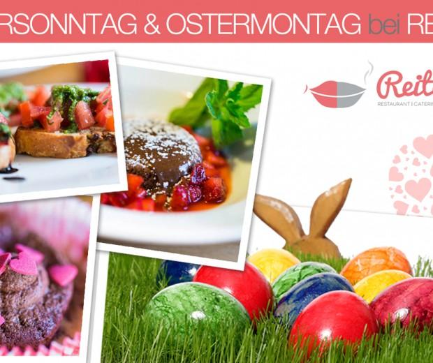Das Restaurant Reiters freut sich auf Ihren Besuch an Ostern