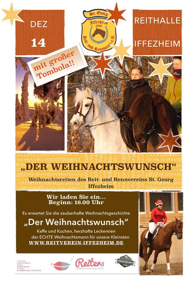 Weihnachtsreiten Flyer