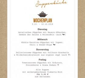 Wochenplan Suppe KW41